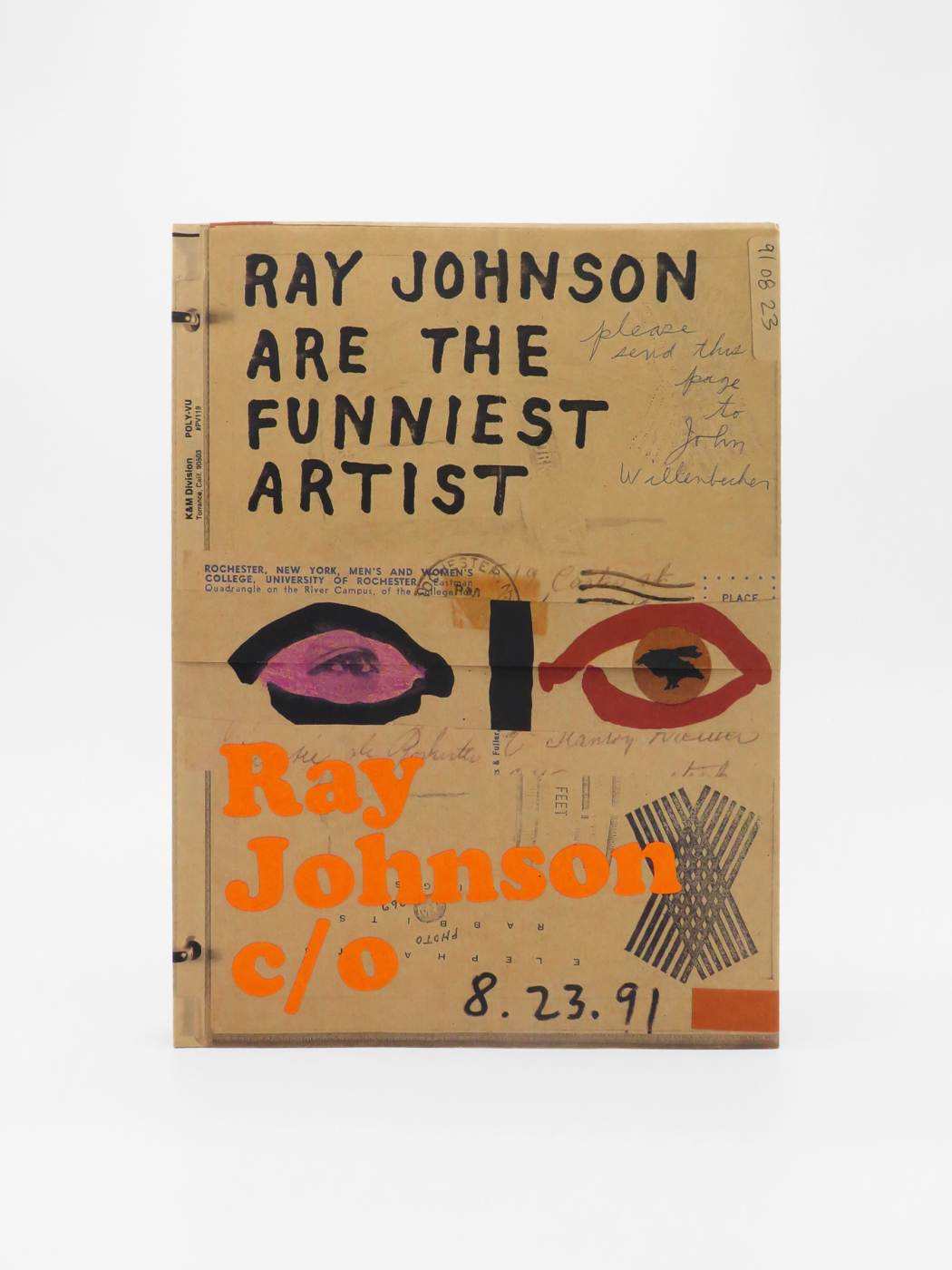 Ray Johnson, Ray Johnson c/o